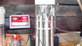 High Output Stanley Meyer HHO Generator.AVI