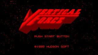 Virtual Boy Longplay [03] Vertical Force (3D)