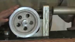 STIRLING ENGINE TAKING ONE APART HOT AIR ENGINE Solar Powered Sun Generator Motor