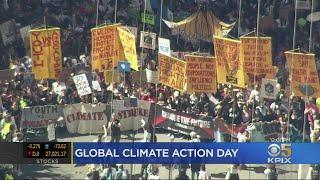 'Climate Strike' Rallies In Bay Area, Worldwide Urge Action On Climate Change
