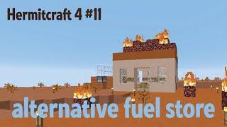 Alternative fuel store — Hermitcraft ep. 11