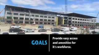 Cigna Healthcare of Texas green building under construction