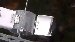 Free energy   Perpetual gravity paddle wheel in water flow to compensate friction in power barge