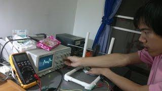 การหาจำนวนรอบขดลวดของ Bedini Motor Generator - Somsak Elect
