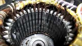 Convert AC Induction Motor to a Generator