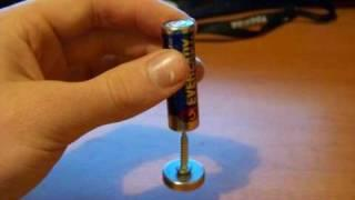Make A Homopolar Motor! This Experiment Will Explain The Inner Workings Of An Electric Motor!