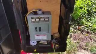DIY.Single Axis,Solar Panel Tracker .Outback PowerGvfx 3524.