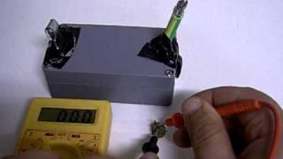 Earth Battery Quest - 0.7 Volt Micro Dry Earth Battery Prototype Experiment #004