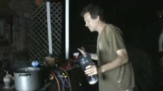 9/05/09 Hydrogen Plasma Electrolysis - pt. 3 - Pour me a Drink