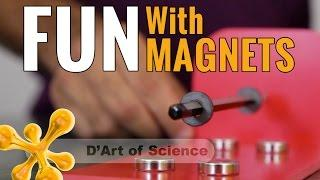 How can a magnet move plastic, magnetic levitation DIY - dartofscience