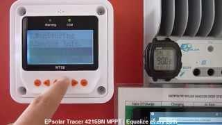 EPsolar Tracer 4215BN MPPT - Forced Equalization Trick