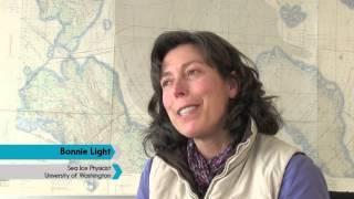 Investigating Arctic Ice Melt, Ice Melt Ponds with Bonnie Light
