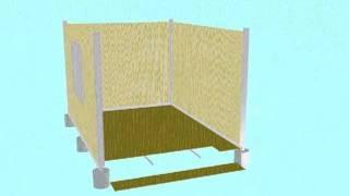 Eco Friendly DIY House