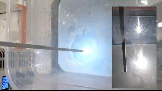 Aluminium melting by plasma electrolysis of water.PART2(is this cold fusion?transmutation Al in Si?)