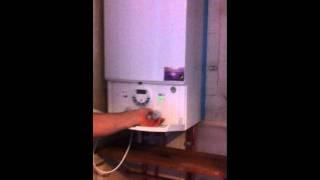 installation of Wocester Bosch 30si combination condensing boiler