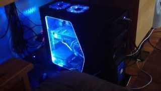 Blue Cold Cathode Light Sound Activated MOD KIT