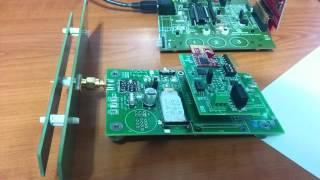 Energy harvesting for wireless sensors demo