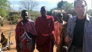 Solar power, water, and refrigeration for Maasai tribe