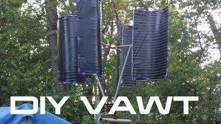 DIY: Vertical Wind Turbine VAWT
