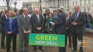 Rep. Alexandria Ocasio-Cortez  Announces 'Green New Deal'