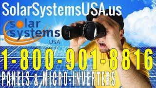 Solar Panels & Micro-Inverters