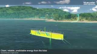 Bluewater Tidal Energy at remote locations