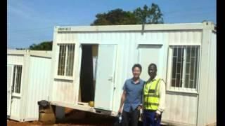 Luxury Office Green Prefab Shipping Container House Price