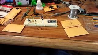 Regulated joule thief