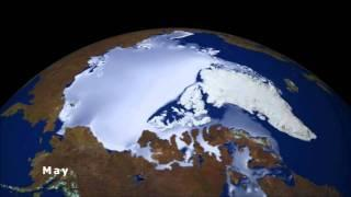 Arctic ice on the move