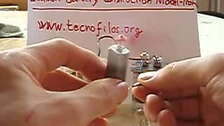 Edison Edison nickel iron battery homemade. Batería Edison de Níquel-hierro casera.