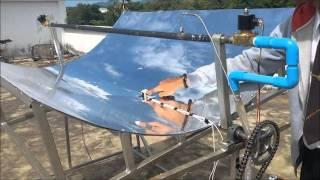 Parabolic Trough Solar Tracking