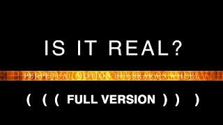 // Full Version //  IS IT REAL? Perpetual Motion Bhaskara's Wheel Experiment 4K