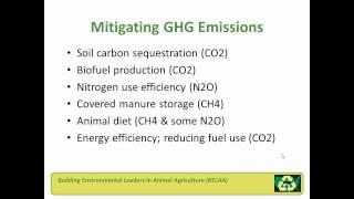 Mitigation and Adaptation: Connections to Agriculture