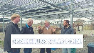 Understanding greenhouse solar panels w/ Dr. Heiner Lieth from UC Davis