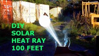 Solar Death Ray 10 000 Suns 48 Quot Diy Giant Archimedes