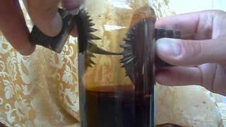 Homemade ferrofluid 6