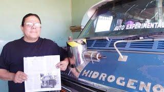 HIDROVAN CAR RUNS ON 100% FUEL VAPORIZER AND HYDROGEN