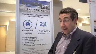 BroadBit metallic sodium batteries, 10x more power than Lithium-Ion, 5-minute full charge