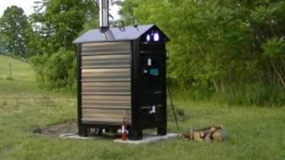 High Efficiency Indoor and Outdoor Wood Gasification Boilers by Empyre