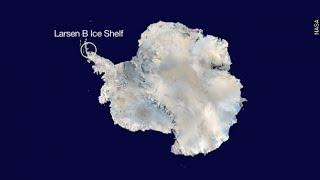 The Unexpected Way Collapsing Ice Shelves Add To Rising Seas