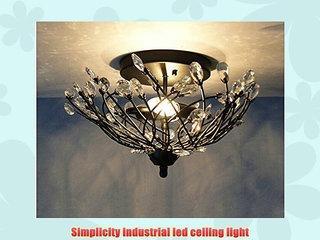 Vintage Flush Mount Industrial DIY Metal Ceiling Lamp Light Pendant Lighting Edison Bulb NEW