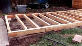 Solar kiln build part -1 (floor)