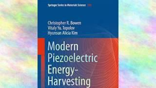 Modern Piezoelectric Energyharvesting Materials | Ebook