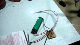 No toroid Joule Thief Circuit