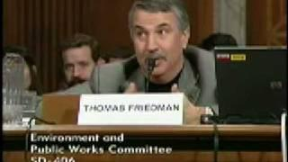 Whitehouse and NY Times Columnist Thomas Friedman Discuss the Need for Investment in Green Energy