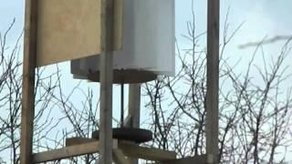 VAWT Wind Turbine blade assembly prototype continued Free Energy DIY