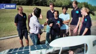 Cambridge University Eco Racing Solar Car - Positive TV & The Ecologist