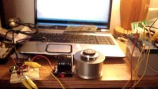 Arduino running a bedini SSG circuit charging battery