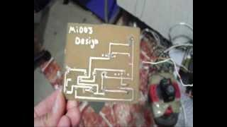light sensor electronic circuit ( night joule thief )