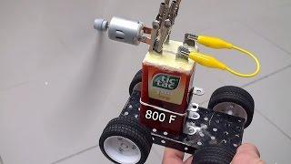 Tic-Tac supercapacitor - 800F from the kitchen